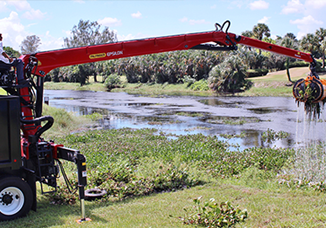 Mechanical Removal of Aquatic Vegetation