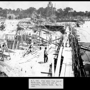 South view of construction